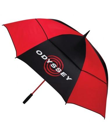 CALLAWAY ODYSSEY 68 UMBRELLA BLACK/RED