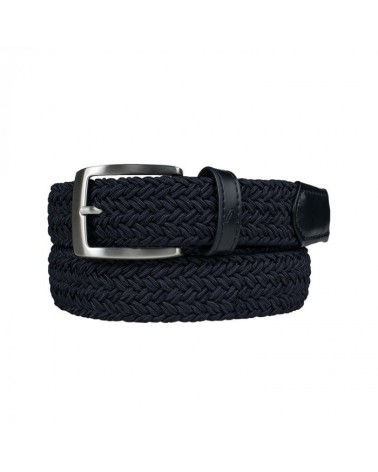 ALBERTO GOLF BELT GURTEL - Basic Braided NAVY
