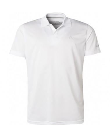 ALBERTO GOLF T-SHIRT HUGH - Cooler WHITE