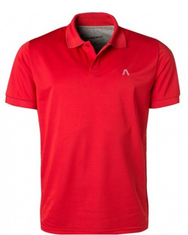 ALBERTO GOLF T-SHIRT HUGH - Cooler RED