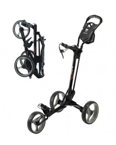 MACGREGOR CONCEPT 3,3 WHEELED TROLLEY BLACK/CHARCOAL