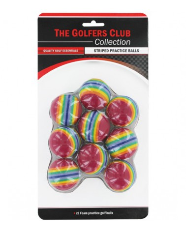 STRIPE PRACTICE BALL 9 PACK