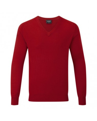 GALVIN GREEN CLIVE SWEATER CZERWONY