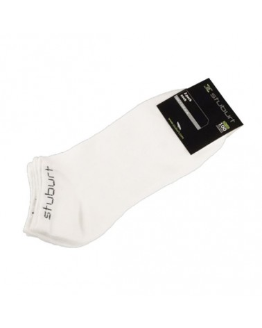 STUBURT 3PK TRAINER SOCK WHITE