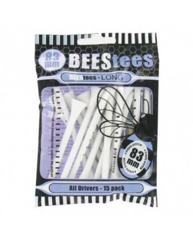 BEES TEES 83MM WOOD SMALL PACK