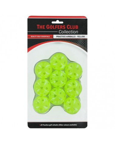 PRACTICE AIRBALLS YELLOW 9 PACK