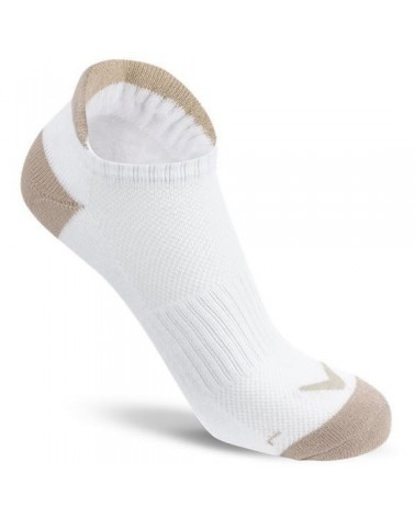 CALLAWAY WMS SPORTS TAB LOW SOCKS WHITE