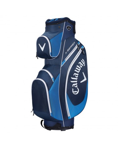 CALLAWA X SERIES CART BAG BLACK/CHARCOAL/WHITE