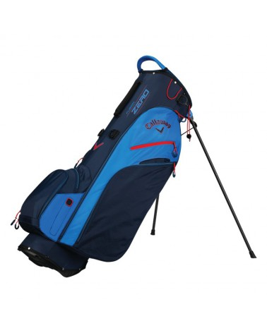 FUSION ZERO STAND BAG NAVY/ROYAL/RED