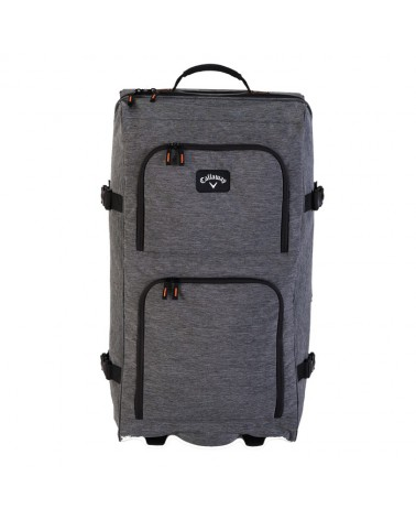 """CALLAWAY CLUBHOUSE 32"""" ROLLING BAG GREY"""