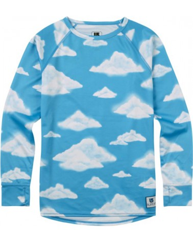 BURTON YOUTH 1ST LAYER SET PARTLY CLOUDY