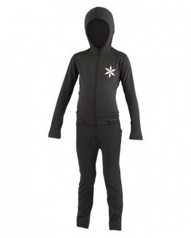 AIRBLASTER YOUTH NINJA SUIT-BLACK