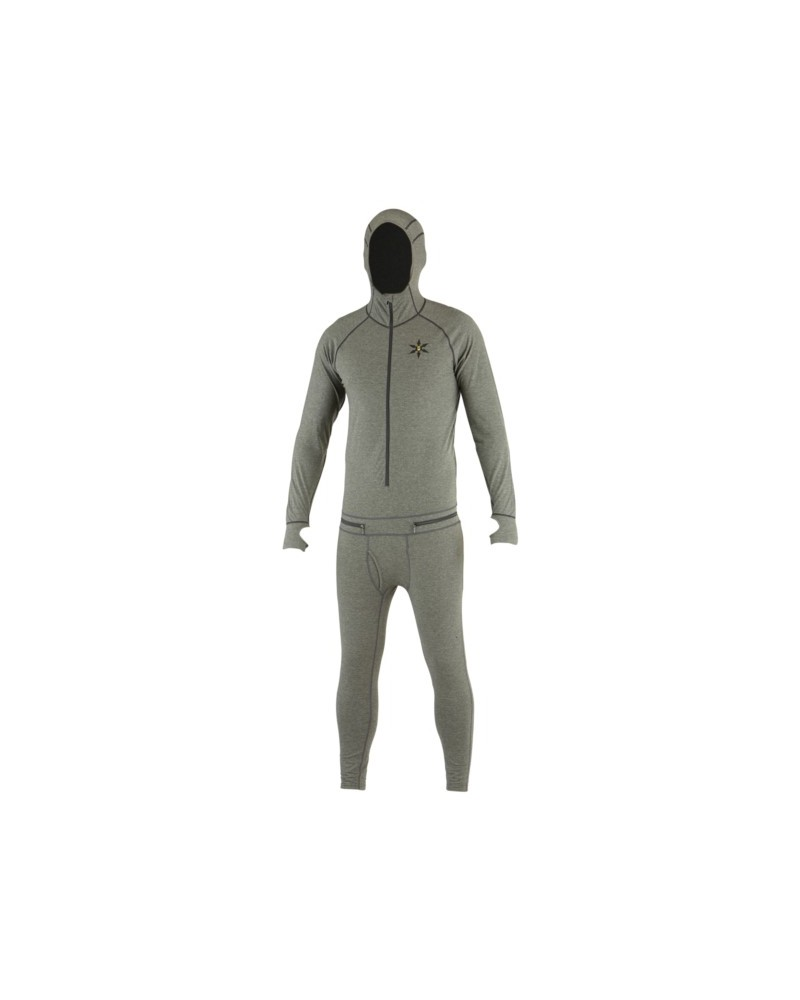 AIRBLASTER MERINO NINJA SUIT-NATURAL BLACK