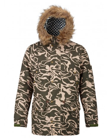 ANALOG FRAZIER JACKET FOREST NOODLE CAMO
