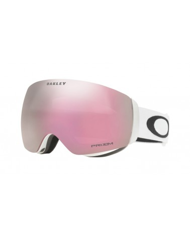 OAKLEY FLIGHT DECK XM MATTE WHITE /PRIZM HI PINK IRIDIUM
