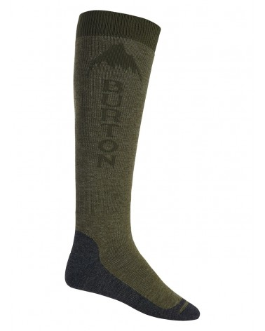 BURTON EMBLEM SOCK OLIVE BRANCH HEATHER