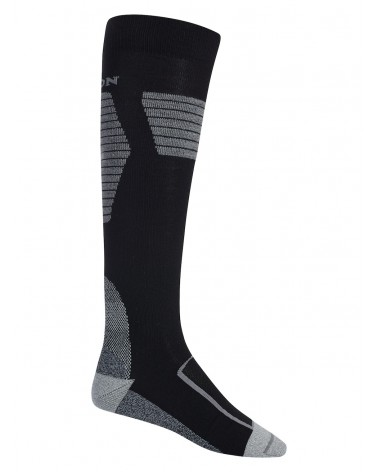 BURTON ULTRALIGHT WOOL SOCK TRUE BLACK