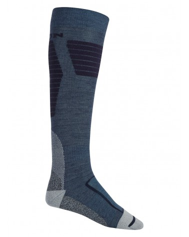 BURTON ULTRALIGHT WOOL SOCK MOOD INDIGO HEATHER
