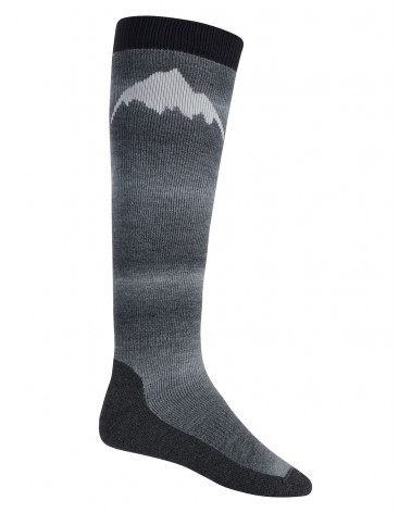 BURTON MERINO EMBLEM SOCK TRUE BLACK