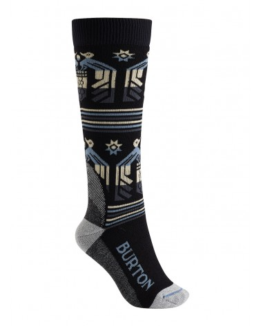 BURTON WOMENS TRILLIUM SOCK TRUE BLACK