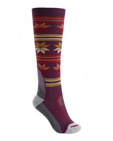BURTON WOMENS ULTRALIGHT WOOL SOCK STARLING