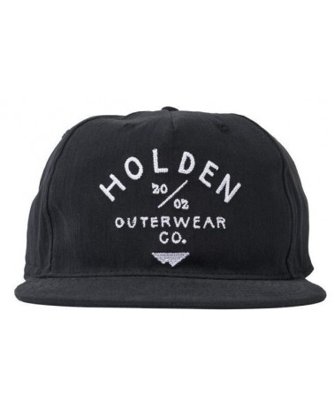 HOLDEN CAMP HAT BLACK