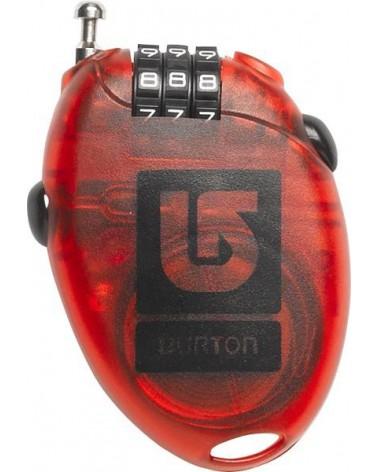 BURTON CABLE LOCK RED
