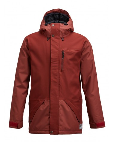 AIRBLASTER YETI STRETCH JACKET-OXBLOOD