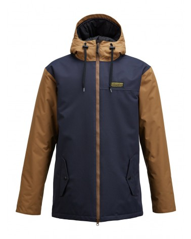 AIRBLASTER TOASTER JACKET-MIDNIGHT CAMEL