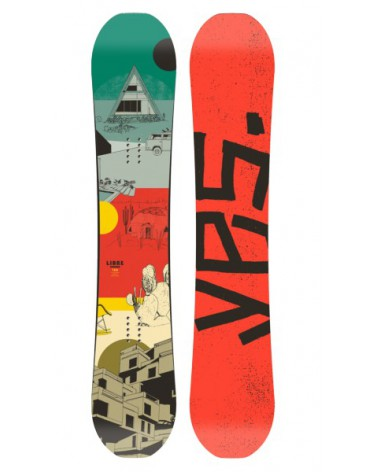 YES. SNOWBOARD LIBRE