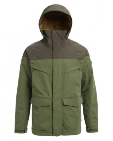 BURTON  BREACH JACKET CLOVER/FOREST NIGHT