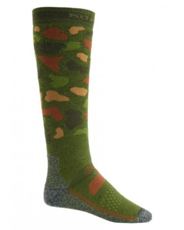 BURTON  PERFORMANCE MIDWEIGHT SOCK FOREST DUCK