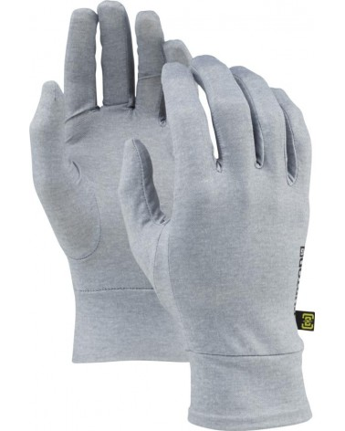 BURTON TOUCHSCREEN LINER HEATHERED GREY