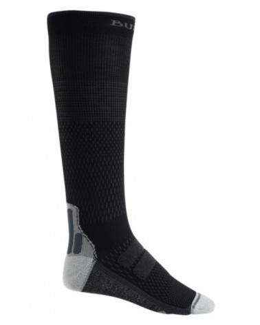 BURTON  PERFORMANCE PLUS ULTRALIGHT COMPRESSION SOCK TRUE BLACK