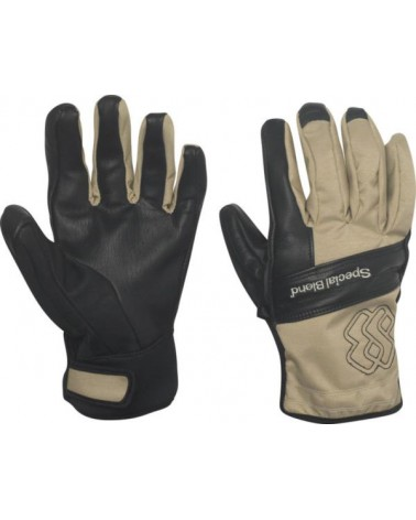 SPECIAL BLEND LEATHER GLOVE TAN LINES