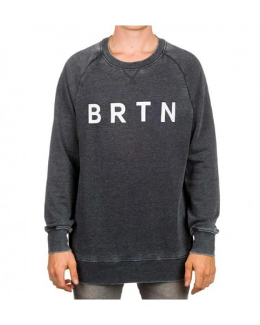 BURTON MB BRTN CREW TRUE BLACK
