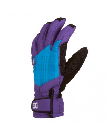 DC SEGER 10K TECHNICAL GLOVE ROYAL PURPLE