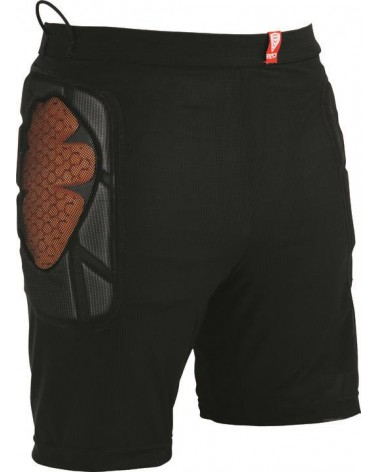 RED BASE LAYER SHORT BLACK