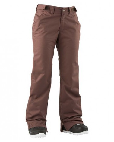 AIRBLASTER CRANKY PANTS DARK OXBLOOD