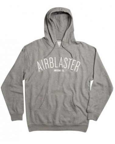AIRBLASTER COLLEGE PULLOVER GUNMETAL HEATHER