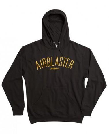 AIRBLASTER COLLEGE PULLOVER BLACK