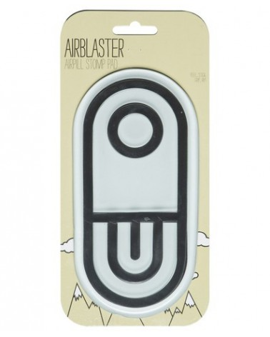 AIRBLASTER AIRPILL STOMP PAD BLACK / WHITE