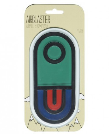 AIRBLASTER AIRPILL STOMP PAD TEAL FIRE