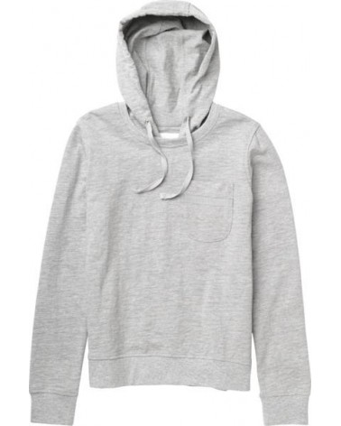BURTON WMN BEARING FLC PO HEATHER GREY /M