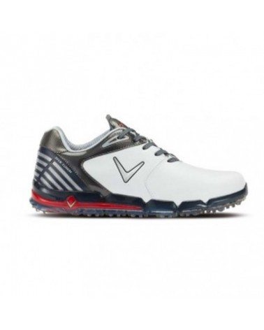 Callaway Xfer Fusion Golf Shoes White/Grey/Red