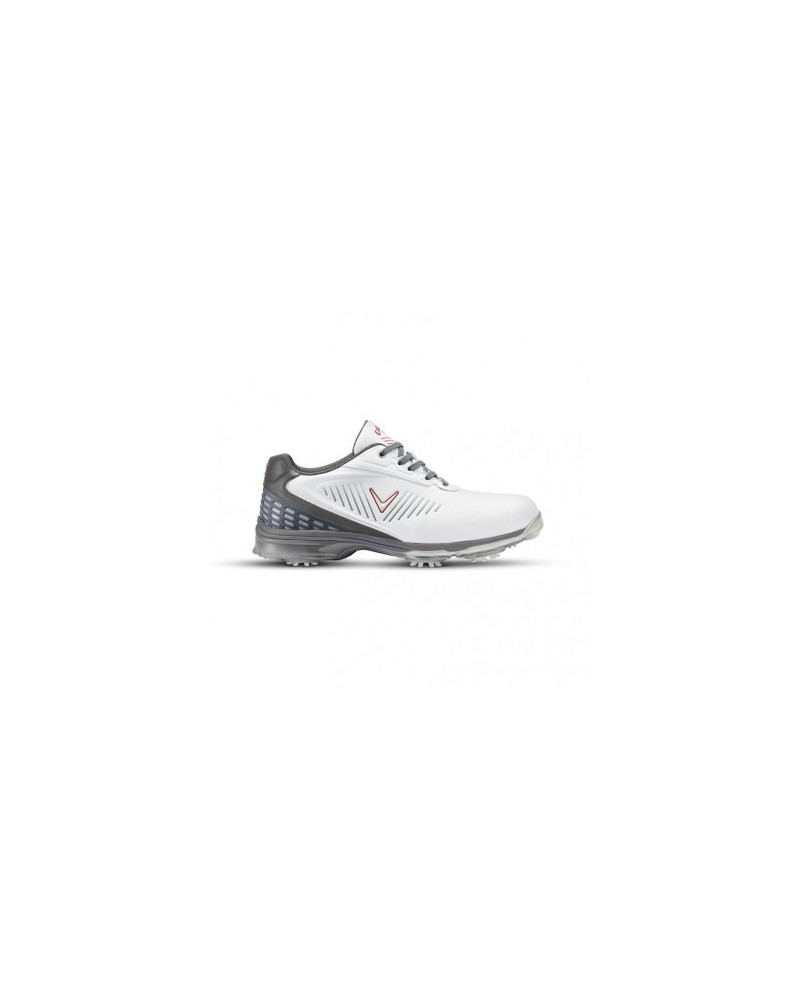 Callaway Xfer Nitro Golf Shoes  WHITE/GREY/CRIMSON