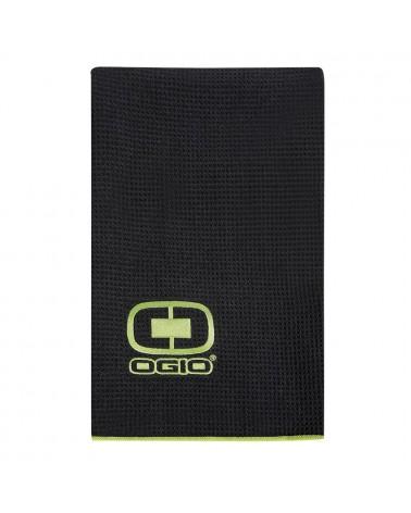 OGIO GOLF TOWEL BLACK/ACID
