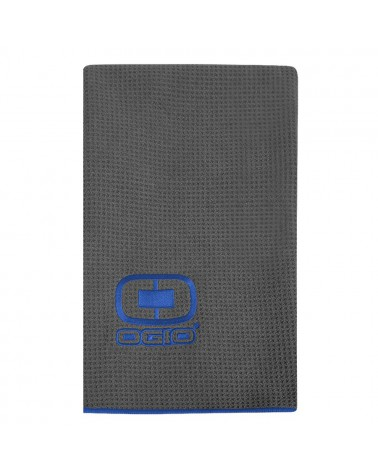 OGIO GOLF TOWEL GRAY/BLUE
