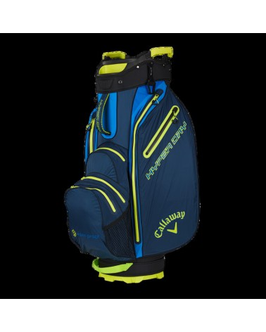 CALLAWAY BAG CART HYPER DRY NAVY/ROYAL/NEON YELLOW