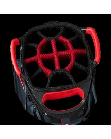 CALLAWAY BAG CART HYPER DRY TITANIUM/BLACK/RED